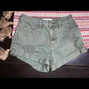 Pacsun high rise shorts size 24